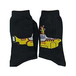 The Beatles Unisex Ankle Socks: Yellow Submarine (UK Size 7 - 11)