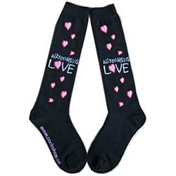 The Beatles Ladies Socks: All you need is love