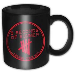 5 Seconds of Summer Boxed Standard Mug: Derping Stamp