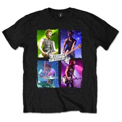 5 Seconds of Summer Unisex Tee: Live in Colours