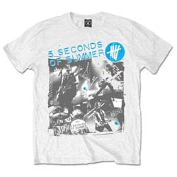 5 Seconds of Summer Unisex Tee: Live Collage
