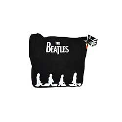 The Beatles Canvas Shoulder Bag: Abbey Road Silhouette