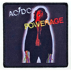 AC/DC Standard Patch: Powerage (Album Cover)