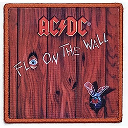 AC/DC Standard Patch: Fly On The Wall (Album Cover)