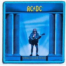 AC/DC Standard Patch: Who Made Who (Album Cover)