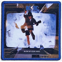 AC/DC Standard Patch: Blow Up Your Video (Album Cover)