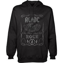AC/DC Men's Pullover Hoodie: Cannon Swig