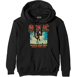 AC/DC Unisex Pullover Hoodie: Blow Up Your Video