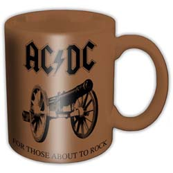 AC/DC Boxed Standard Mug: For those about to rock