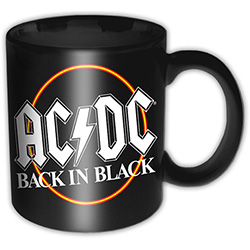 AC/DC Boxed Premium Mug: Back in Black Circle
