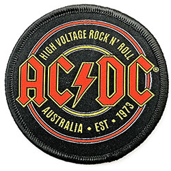 AC/DC Standard Patch:Est. 1973 (Embroidered)