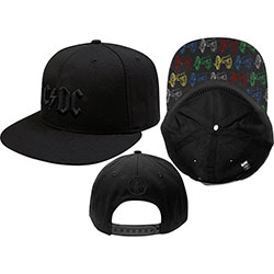 AC/DC Men's Baseball Cap: Canon Pop-Art (Snap Back)
