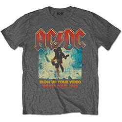 AC/DC Kids Tee: Blow Up Your Video