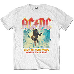 AC/DC Unisex Tee: Blow Up Your Video