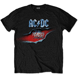 AC/DC Unisex Tee: The Razors Edge