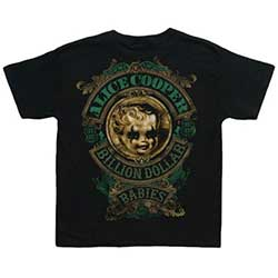 Alice Cooper Kid's Tee: Billion Dollar Baby (Toddler's Fit)