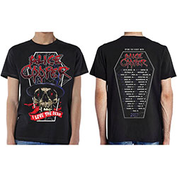Alice Cooper Men's Tee: Love The Dead (Dec 2017) (Ex Tour/Back Print)