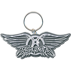 Aerosmith Keychain: Wings Logo (Enamel In-fill)