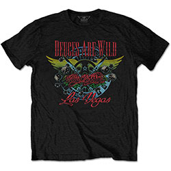 Aerosmith Unisex Tee: Deuces Are Wild, Vegas