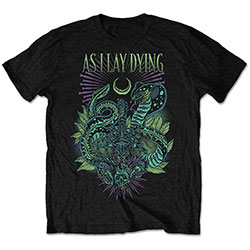 As I Lay Dying Men's Tee: Cobra (Retail Pack)