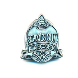 Alice Cooper Pin Badge: School's Out