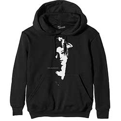 Amy Winehouse Unisex Pullover Hoodie: Scarf Portrait