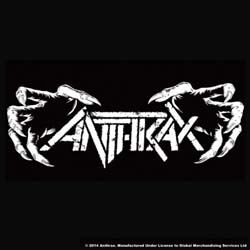 Anthrax Single Cork Coaster: Death Hands