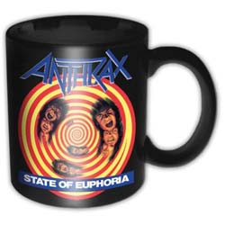 Anthrax Boxed Standard Mug: State of Euphoria
