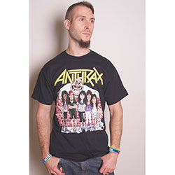 Anthrax Unisex Tee: Euphoria Group Sketch (X-Large Only)