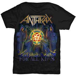 Anthrax Unisex Tee: For All Kings Cover