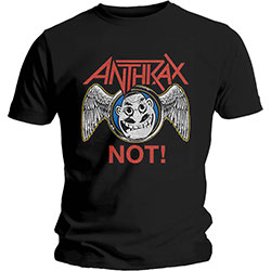 Anthrax Unisex Tee: Not Wings