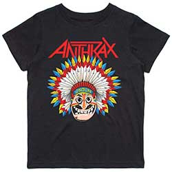 Anthrax Kids Tee: War Dance