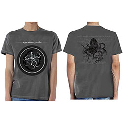A Perfect Circle Unisex Tee: Octocircle 2018 (Ex Tour/Back Print)