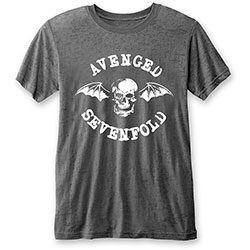 Avenged Sevenfold Unisex Tee: Deathbat (Burn Out)
