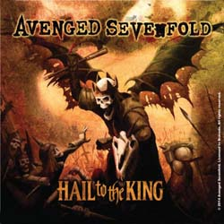 Avenged Sevenfold Single Cork Coaster: Hail to the King