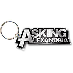 Asking Alexandria Keychain: Logo (Enamel In-fill)