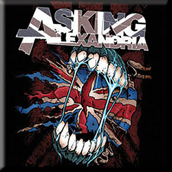 Asking Alexandria Fridge Magnet: Flag Eater