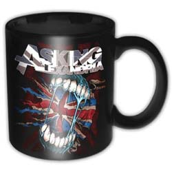 Asking Alexandria Boxed Standard Mug: Flag Eater