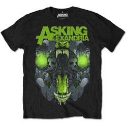 Asking Alexandria Unisex Tee: TSth (Retail Pack)