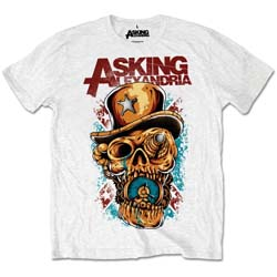 Asking Alexandria Men's Tee: Stop The Time (Retail Pack)
