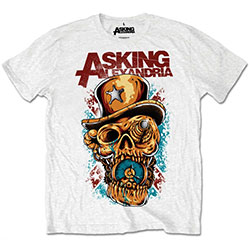 Asking Alexandria Unisex Tee: Stop The Time (Retail Pack)