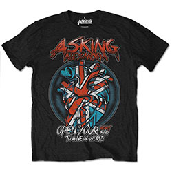 Asking Alexandria Unisex Tee: Heart Attack (Retail Pack)