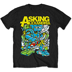 Asking Alexandria Unisex Tee: Killer Robot (Retail Pack)