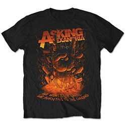 Asking Alexandria Unisex Tee: Metal Hand (Retail Pack)