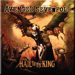 Avenged Sevenfold Fridge Magnet: Hail to the King