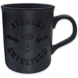 Avenged Sevenfold Boxed Premium Mug: Death Bat (Black on Black Matt)