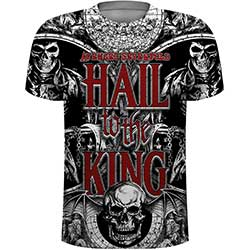 Avenged Sevenfold Men's Tee: All Over with Sublimation Printing