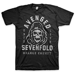 Avenged Sevenfold Unisex Tee: So Grim Orange County