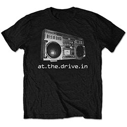 At The Drive-In Unisex Tee: Boom box