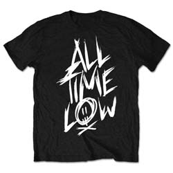 All Time Low Unisex Tee: Scratch (Retail Pack)